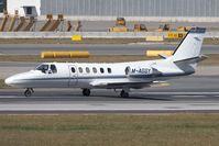 M-AGGY @ LOWW - Cessna 550 - by Andy Graf-VAP