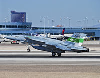 166791 @ KLAS - F/A-18E/F Super Hornet 166791 VX-9 Vampires