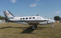 N111BX @ KOSH - Cessna 414 - by Mark Pasqualino