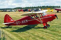 OY-AKM @ EKVJ - Piper PA-16 Clipper [16-101] Stauning~OY 14/06/2008