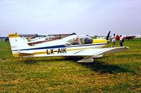 LX-AIK @ EGDT - Robin HR.200/120 Club [43] Wroughton~G 29/6/1986 - by Ray Barber