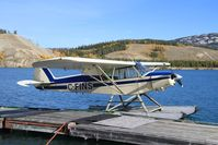C-FINS @ CEZ5 - Moored at Schwatka Lake - Whitehorse, Yukon - by Murray Lundberg