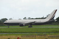 VP-CME @ EINN - Seen departing off Rwy 24 at Shannon after maintenance. - by Noel Kearney