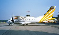 HB-AEG @ LSZB - Dornier Do.328-110 [3011] (Air Engiadina) Bern-Belp~HB 12/08/1997
