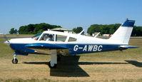 G-AWBC @ EGBP - Piper PA-28R-180 Cherokee Arrow [28R-30572] Kemble~G 13/07/2003 - by Ray Barber