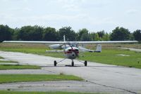 D-EALX @ EDAY - Cessna 150 at Strausberg airfield - by Ingo Warnecke