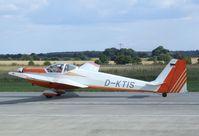 D-KTIS @ EDAY - Scheibe SF-25C Rotax-Falke at Strausberg airfield