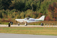 N28P @ EEN - Taxiing after landing on runway 14-32, Dillant-Hopkins Airport, Keene, NH