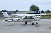 D-ETKD @ EDAY - Cessna 152 II at Strausberg airfield