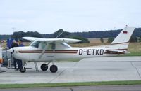 D-ETKD @ EDAY - Cessna 152 II at Strausberg airfield - by Ingo Warnecke