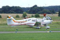 PH-DAI @ EDAY - Diamond DA-40D Diamond Star at Strausberg airfield