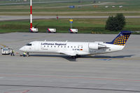 D-ACRQ @ LHBP - Lufthansa Regional op by Eurowings D-D-ACRQ; wfu and stored DUS 2001-07-31. - by Thomas M. Spitzner
