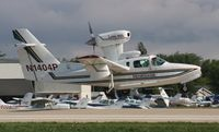 N1404P @ KOSH - Lake LA-250 - by Mark Pasqualino