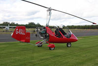 G-IGLL @ X5ES - Rotorsport UK MTO Sport, Great North Fly-In, Eshott Airfield UK, September 2012. - by Malcolm Clarke