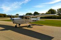 N920WB @ C02 - Parked on the ramp at the Grand Geneva Resort Airport in Lake Geneva, Wisconsin - by Matt Martin