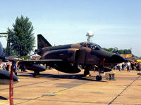 68-0568 @ MHZ - RF-4C Phantom of RAF Alconbury's 10th Tactical Reconnaissance Wing on display at the 1982 RAF Mildenhall Air Fete. - by Peter Nicholson
