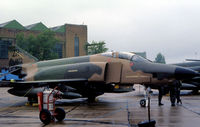 69-0373 @ MHZ - RF-4C Phantom of 38th Tactical Reconnaissance Squadron/26th Tactical Reconnaissance Wing based at Zweibrucken on display at the 1983 RAF Mildenhall Air Fete. - by Peter Nicholson