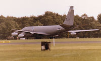 58-0043 @ MHZ - KC-135A Stratotanker of 133rd Air Refuelling Squadron New Hampshire Air National Guard on dispersal at the 1980 RAF Mildenhall Air Fete. - by Peter Nicholson