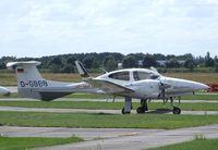 D-GBBB @ EDAY - Diamond DA-42 Twin Star at Strausberg airfield