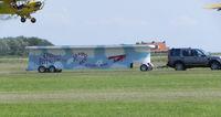 G-BPCF @ EHTX - Texel Air Show ; O'Briens Flying Circus , Truck Top Landing - by Henk Geerlings