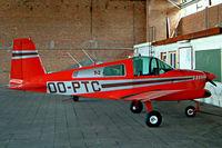 OO-PTC @ EBSP - American Aviation AA-1B Trainer [AA1B-0466] Spa-La Sauvenière~OO 15/08/2002