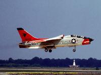143710 @ NHK - landing at Pax River 1968 - by J.G. Handelman