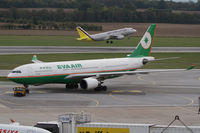 B-16302 @ LOWW - Eva Air Airbus A330 - by Thomas Ranner