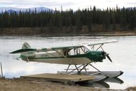 CF-RTL - On the Yukon River downstream from Whitehorse, Yukon. - by Murray Lundberg