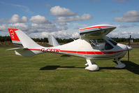 G-CESW @ X5ES - Flight Design CTSW, Great North Fly-In, Eshott Airfield UK, September 2012. - by Malcolm Clarke
