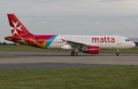 9H-AEN @ EGSH - AMC5144 arriving at EGSH in Air Malta's latest livery. - by Matt Varley