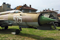 525 - Exhibited at Military Museum in Sofia - by Terry Fletcher
