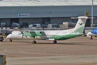 LN-WDH @ EGCC - 2009 De Havilland Canada DHC-8-402Q, c/n: 4273 at Manchester