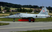 J-3040 @ LSMP - taxying to the active at Payerne AB