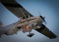 N8416M @ 23N - Smokin Cessna Aerobat - by Michael DeMita