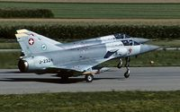 J-2324 @ LSMP - departure from Payerne AB