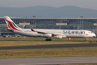 4R-ADC @ EDDF - SriLankan A340-300 - by Andy Graf-VAP