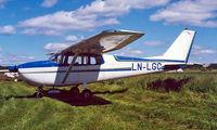 LN-LGC @ ENJB - Cessna 172B Skyhawk [172-47960] Jarlsberg~LN 03/06/2000 - by Ray Barber