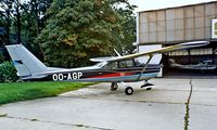 OO-AGP @ EBAW - Cessna 172H Skyhawk [172-54976] Antwerp~OO 14/09/1985