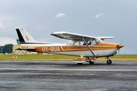 OY-BUA @ EGBP - R/Cessna F.172M Skyhawk [1477] Kemble~G 10/07/2004