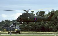 XT485 @ EGDY - hovering at RNAS Yeovilton
