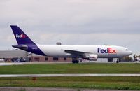 N741FD @ CYOW - Just landed from Buffalo NY and heading towards the Fed Ex terminal. - by Dirk Fierens