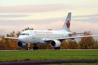 C-GARJ @ CYOW - Preparing for takeoff on a wet morning flight to Toronto, on rwy 25. - by Dirk Fierens
