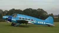 G-AHKX @ EGTH - 1. G-AHKX at Shuttleworth Autumn Air Show, October, 2012 - by Eric.Fishwick