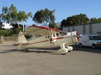 N5524N @ SZP - 1943 Howard DGA-15P 'Mr. Hooligan', P&W R-985 Wasp Jr. 450 Hp - by Doug Robertson