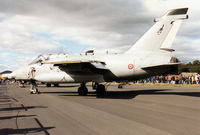 MM7112 @ EGQL - Italian Air Force AMX of 51 Stormo on display at the 1994 RAF Leuchars Airshow. - by Peter Nicholson