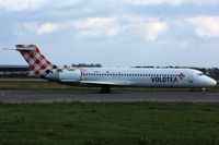 EI-EXI @ LFKB - Taxiing to Runway 34 - by BTT