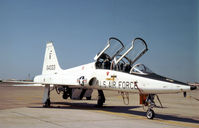 66-4333 @ NFW - T-38A Talon of 12th Flying Training Wing at Randolph AFB on the flight-line at Carswell AFB in October 1978. - by Peter Nicholson