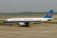 B-2353 @ ZGGG - Airbus A320-232 [0722] (China Southern) Guangzhou-Baiyun~B 24/10/2006 - by Ray Barber