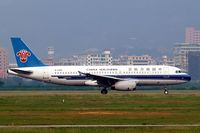 B-2369 @ ZGSZ - Airbus A320-232 [0900] (China Southern Airlines) Shenzhen-Baoan~B 22/10/2006 - by Ray Barber