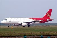 B-6286 @ ZGSZ - Airbus A320-214 [2909] (Shenzhen Airlines) Shenzhen-Baoan~B 23/10/2006 - by Ray Barber